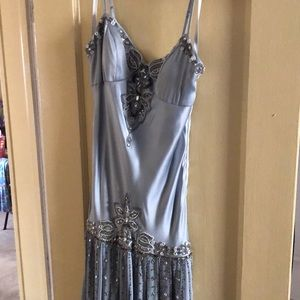 Sue Wong nocturne beaded bodice dress